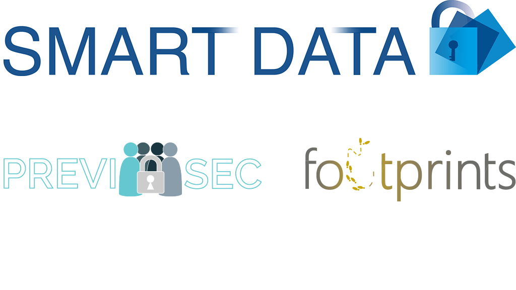 SMART DATA footprints PREVISEC Logo