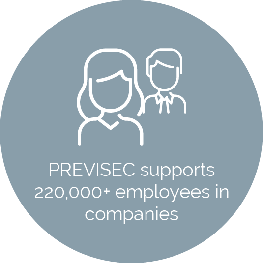 KPI PREVISEC supports more than 220000 employess in companies world wide every day